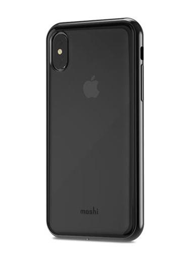 Vitros iPhone X Kuzgun Siyahı Telefon Kılıfı-Moshi